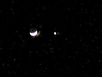 Moon & Venus 2